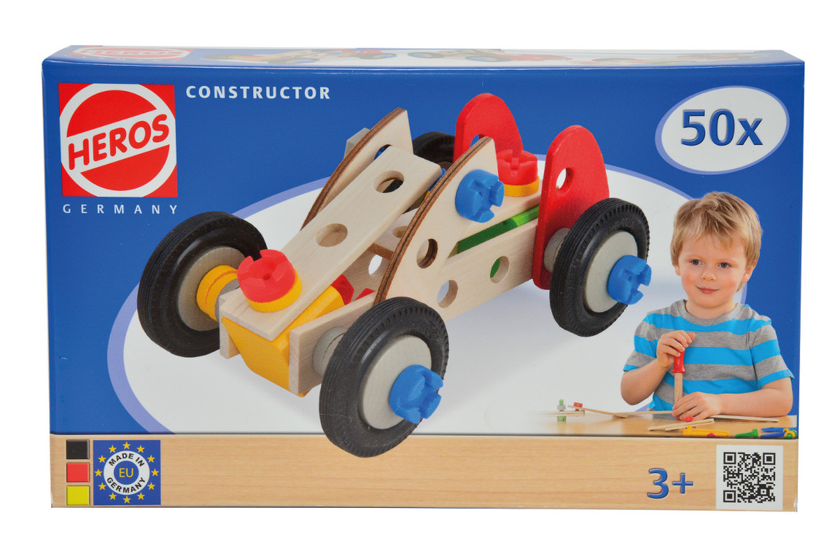 SIMBA - Heros Constructor Racer, 3 Modely