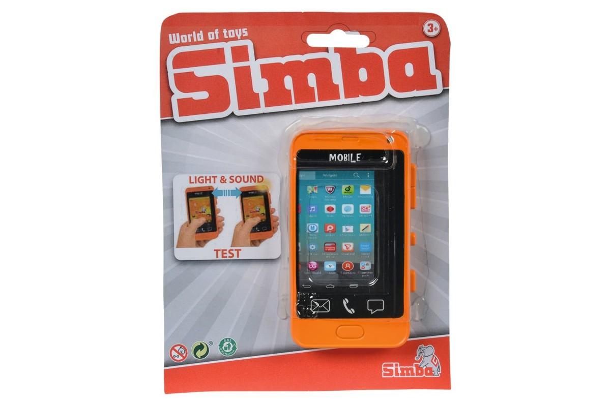 SIMBA - Mobilní Telefon S Dotykovým Displejem, 2 Druhy