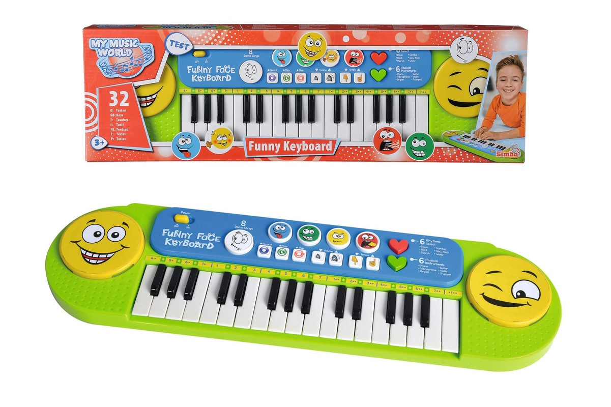 SIMBA - Musik Funny klávesy