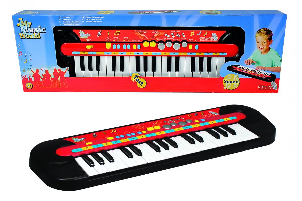 SIMBA - Piano, 32 Klávesa, 45 X 13 Cm, Na Baterie