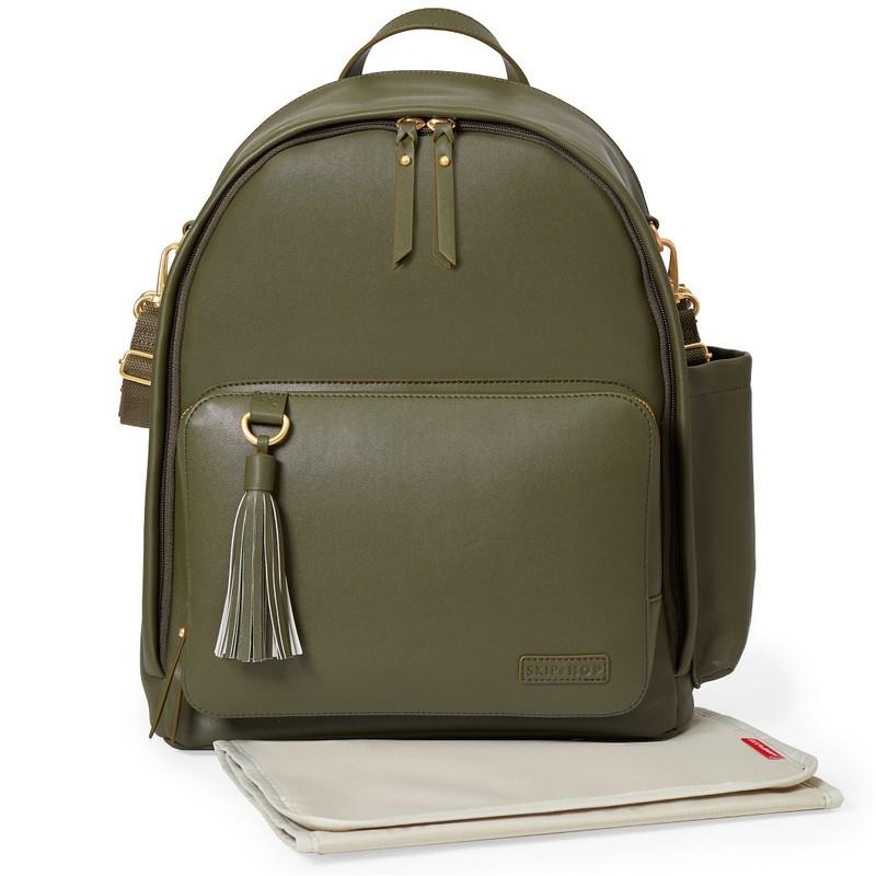 SKIP HOP - Taška přebalovací   batoh Simply Chic - Olive bf9a91e26f