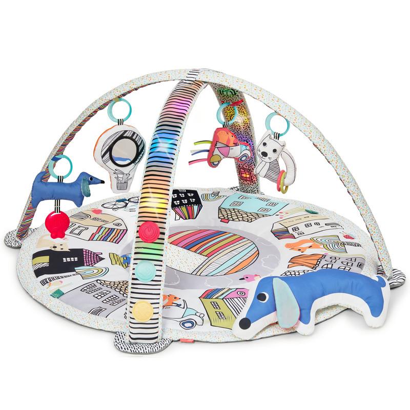 SKIP HOP - Technicolor Hrací deka se světly