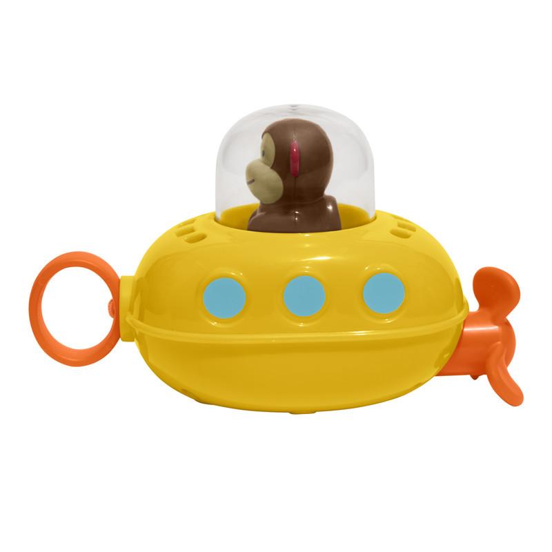 SKIP HOP - Zoo hračka do vody Ponorka - Opička 12m+