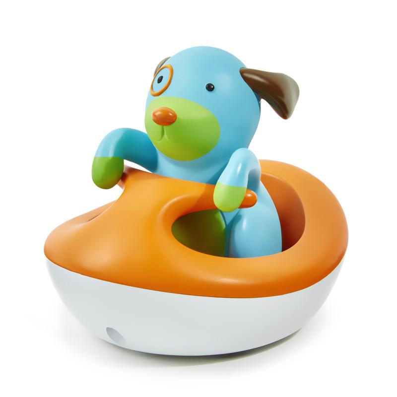 SKIP HOP - Zoo hračka do vody - Pejsek na vodním skútru 12m+