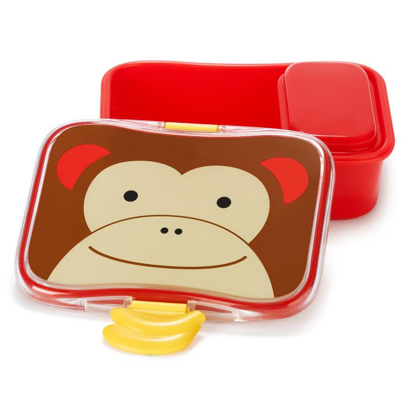SKIP HOP - Zoo Krabička na svačinu - 4-dílná - Opička