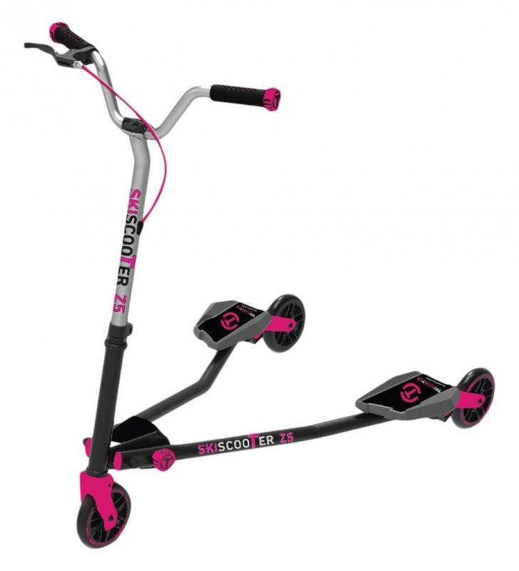 SMART-TRIKE - koloběžka 223 Ski Scooter Z5 fialová