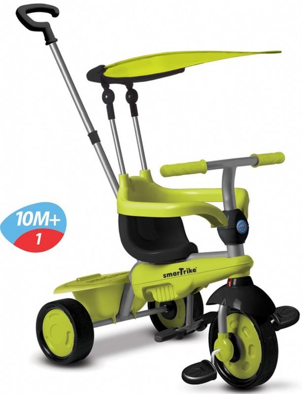 SMART TRIKE - tříkolka 619 Carnival Touch Steering 3v1 Zelená