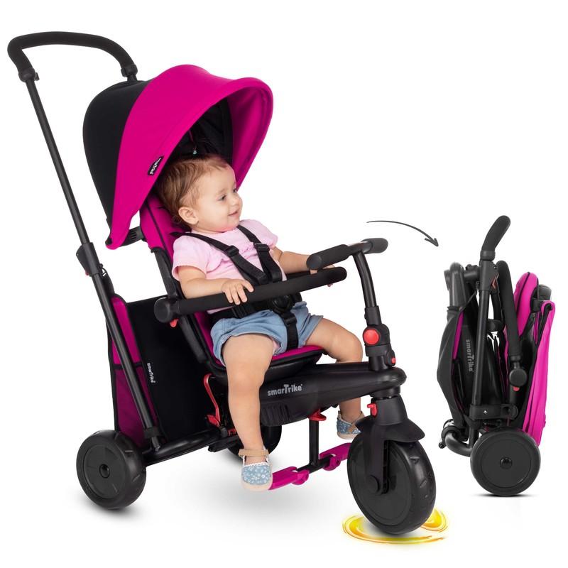 SMART TRIKE - tříkolka smarTfold 400S 6v1, pink