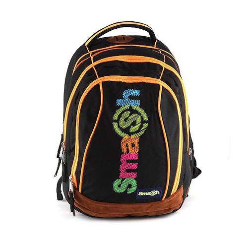 SMASH - Školní batoh Smash 2v1 - Černý