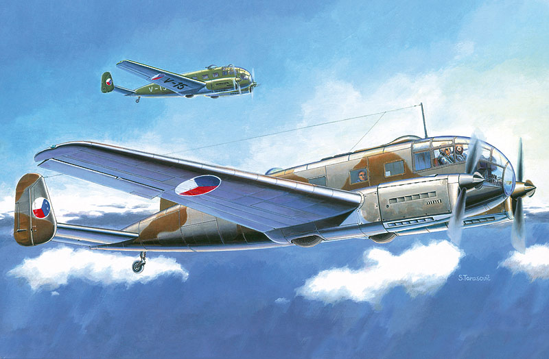 SMĚR - MODELY - Aero C-3 A/B
