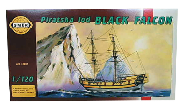 SMĚR - MODELY - Black Falcon 1: 120