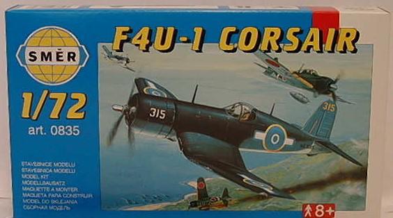 SMĚR - MODELY - Chance Vought F4U-1 Corsair 1:72