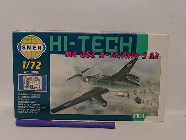 SMĚR - MODELY - Messerschmitt Me 262 A 1:72