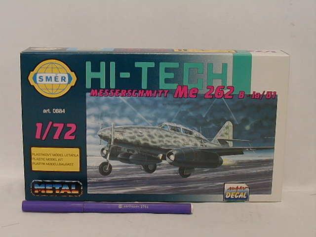 SMĚR - MODELY - Messerschmitt Me 262 B 1:72