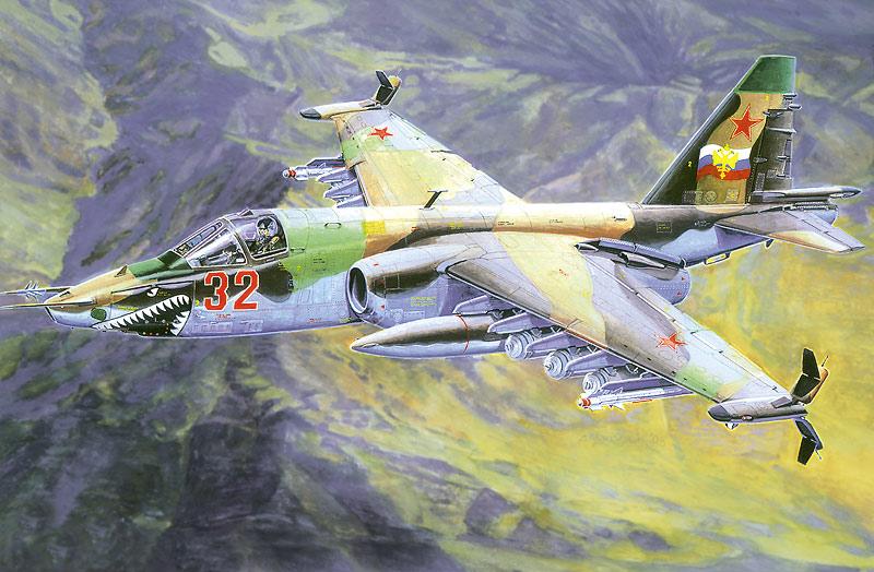 SMĚR - MODELY - Suchoj Su-25 K