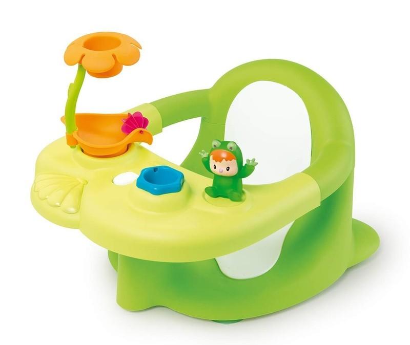 SMOBY - 110615 Cotoons Sedátko do vany žabka zelené