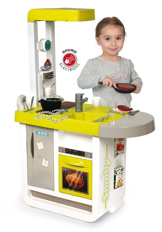 SMOBY - 310908 Kuchyňka Cherry elektronická zelená