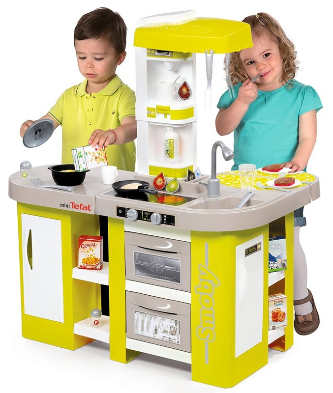 SMOBY - 311024 Kuchyňka Tefal Studio XL elektronická zelená