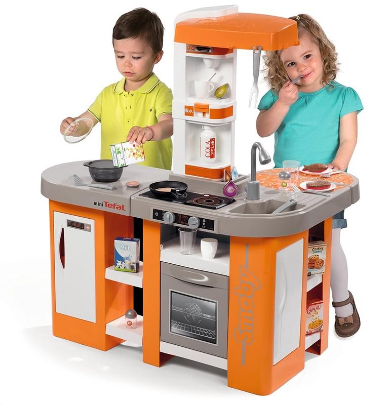 SMOBY - 311026 Kuchyňka Tefal Studio XL Bubble elektronická oranžová