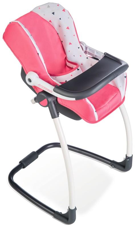 SMOBY - 3v1 Autosedačka a židlička MC&Q pro panenky