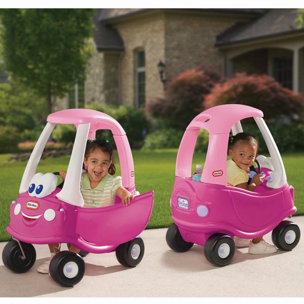 SMOBY - autíčko Cozy Coupe růžové 630750