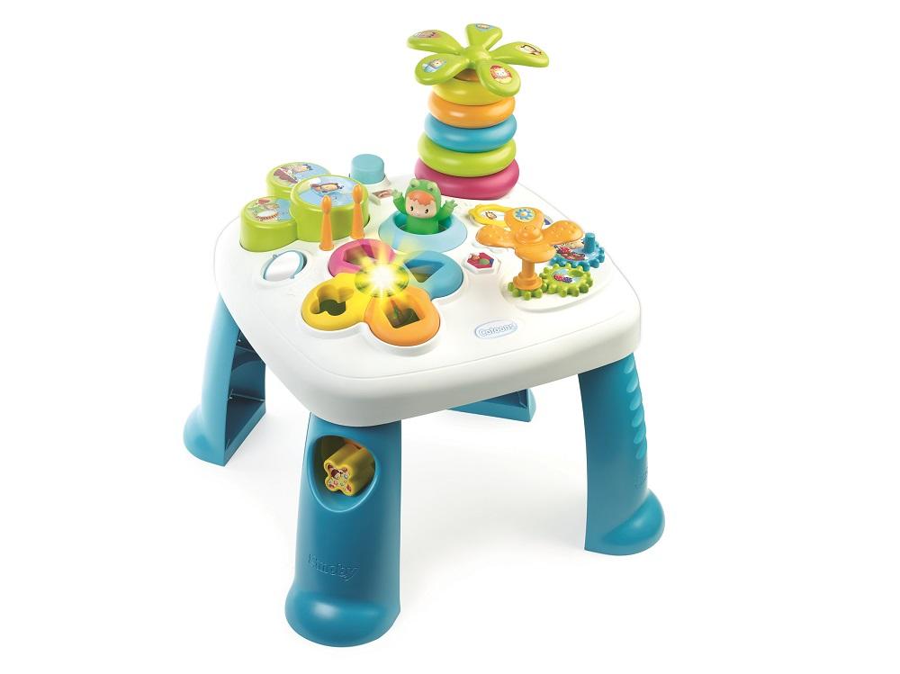 SMOBY - Cotoons Multifunkční Hrací Stůl Modrý