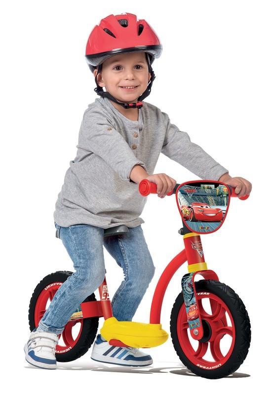 SMOBY - cykloodrážadlo se stojanem 770117 Cars 3