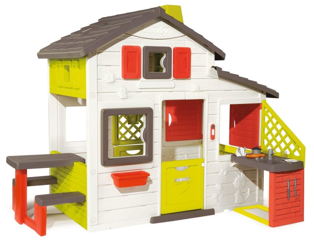 SMOBY - Domeček Friends House S Kuchyní