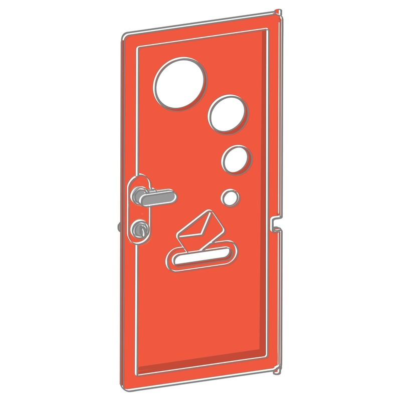 SMOBY - Dveře K Domečku