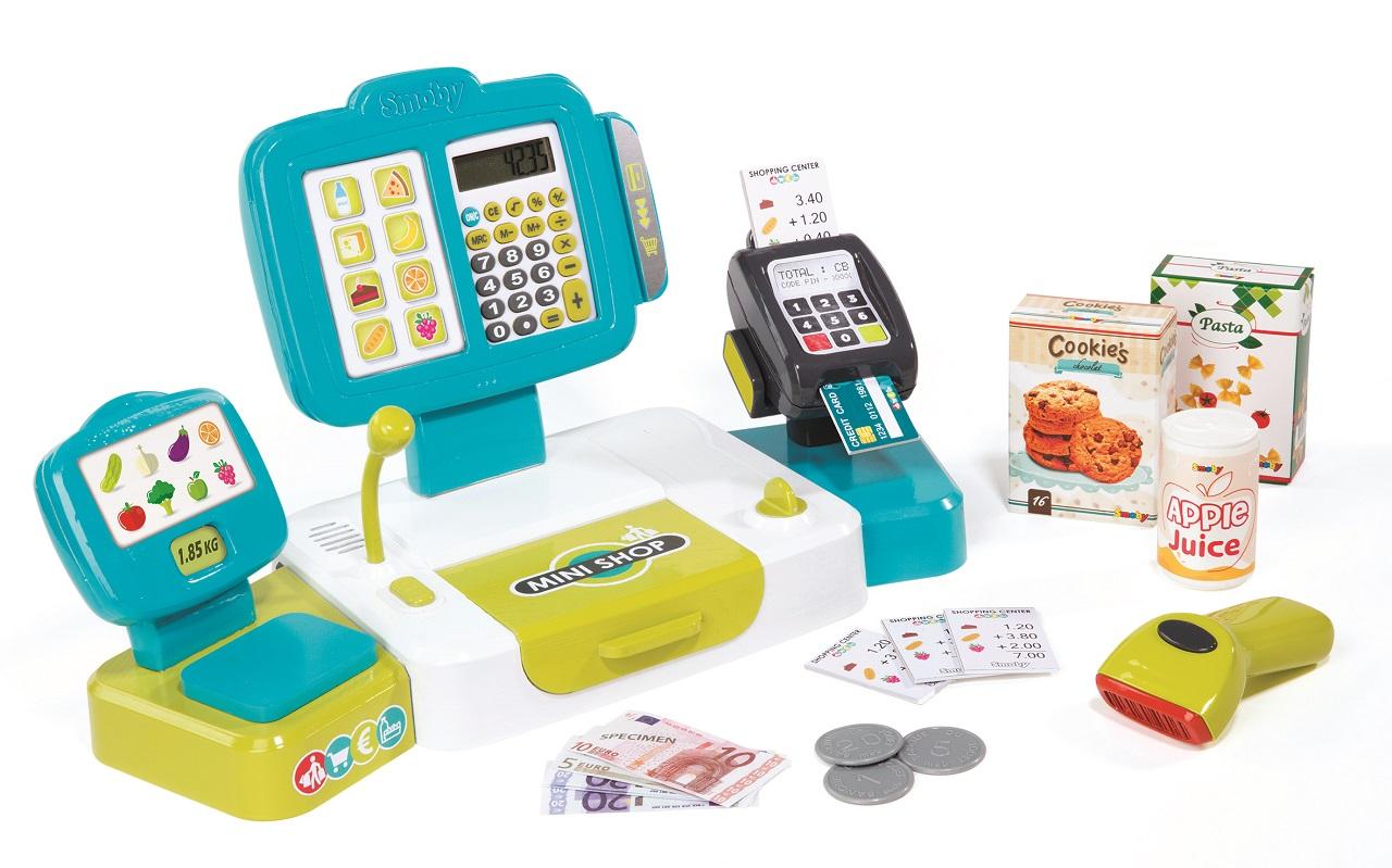 SMOBY - Pokladna elektronická s váhou