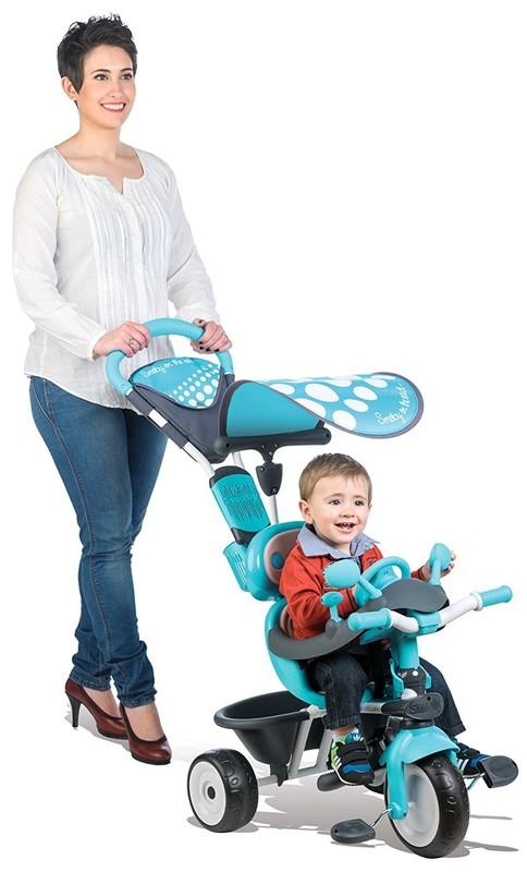 SMOBY - tříkolka Baby Driver Confort modrá 740601