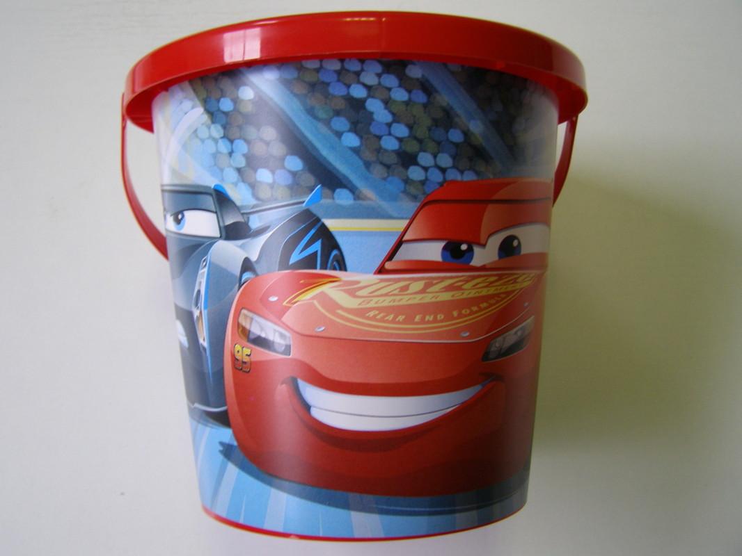 SMOBY - Kyblíček Cars 3 střední Smoby