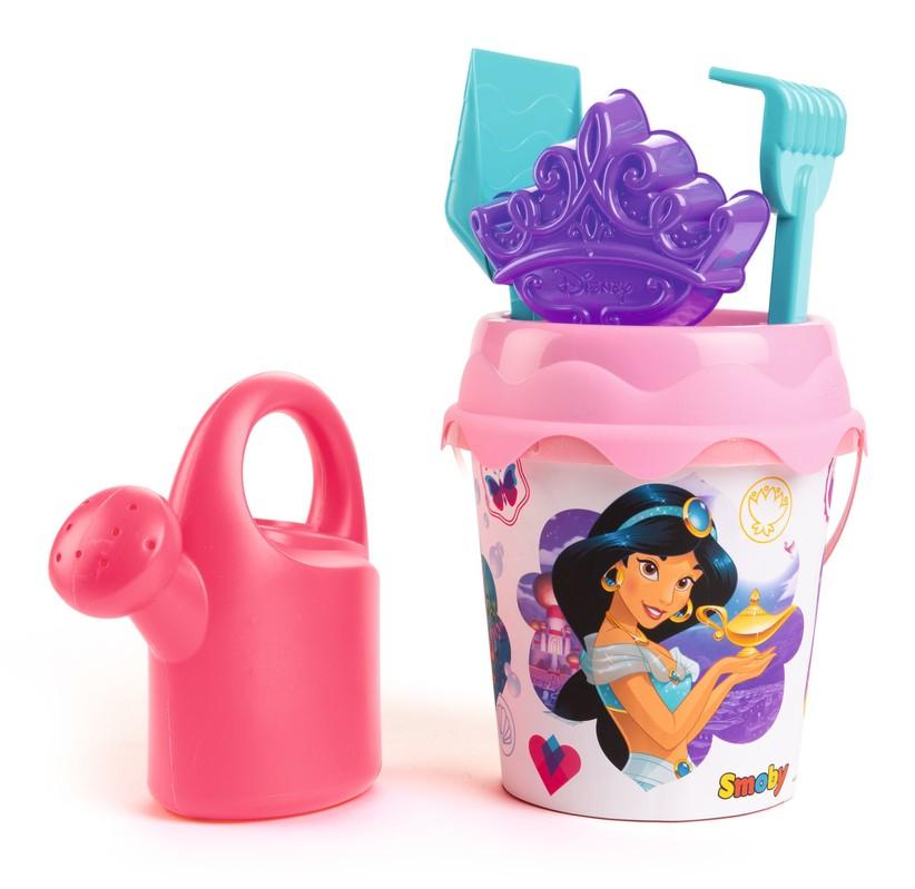 SMOBY - Kyblíček Disney Princess S Konvičkou A Přísl., Střední Smoby
