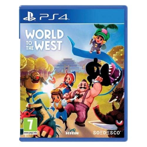 SOEDESCO - PS4 World to the West, Akční adventura pro PlayStation 4