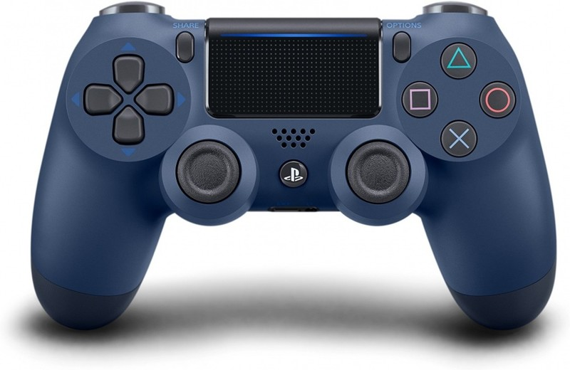 SONY - PS4 DualShock 4 Wireless Cont. V2 Midnight Blue