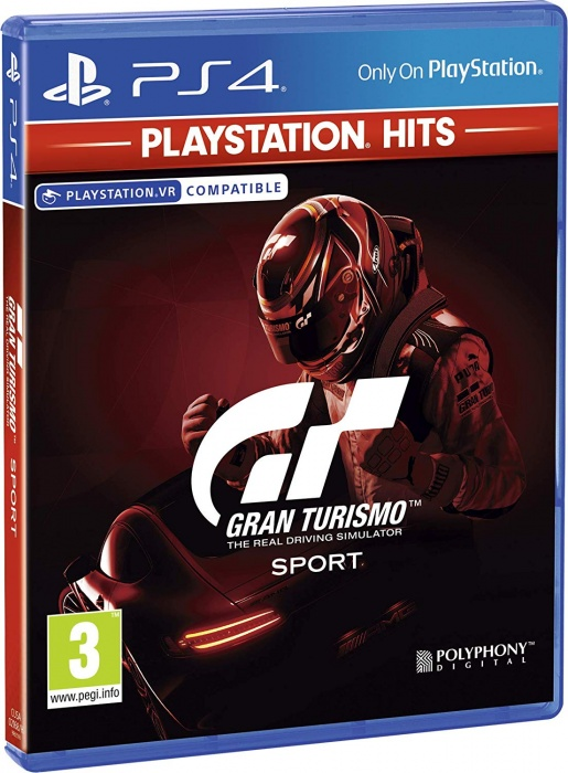 SONY - PS4 Gran Turismo Sport HITS, Sporotvní hra pro PlayStation 4
