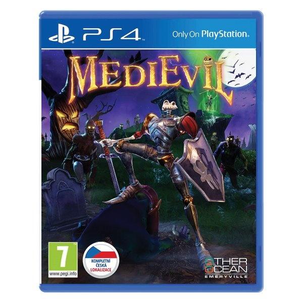 SONY - PS4 MediEvil CZ, Akční adventura pro PlayStation 4