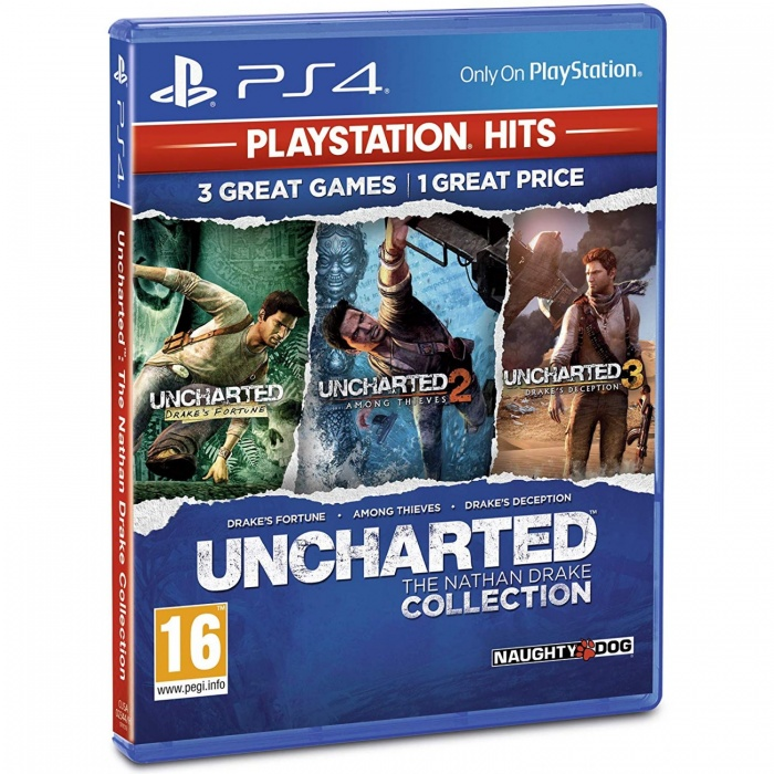 SONY - PS4 Uncharted: The Nathan Drake Collection HITS