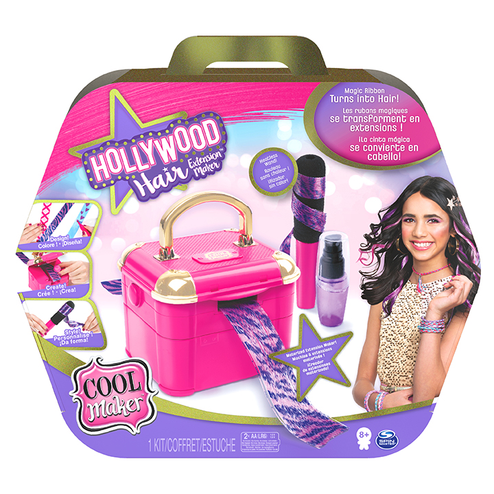 SPIN - Cool Maker Vlasové Studio Holywood