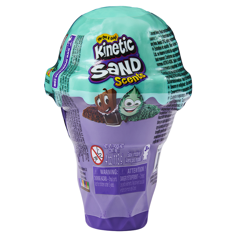 SPIN - Kinetic Sand Voňavé Zmrzlinové Kornouty