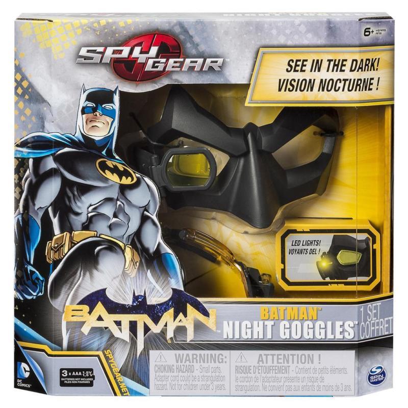 SPIN MASTER - Spy-Gear Batman maska na noční vidění 26810