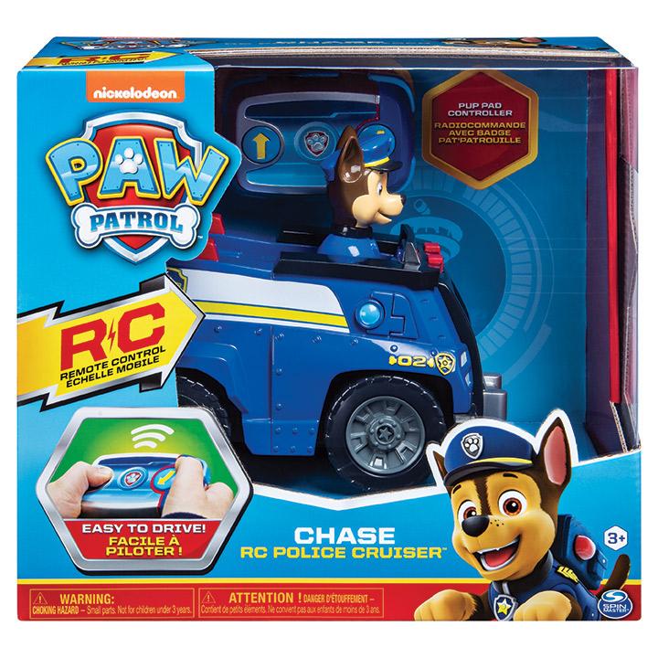 SPIN - Paw Patrol autíčko s chasem na d1álkové ovládání
