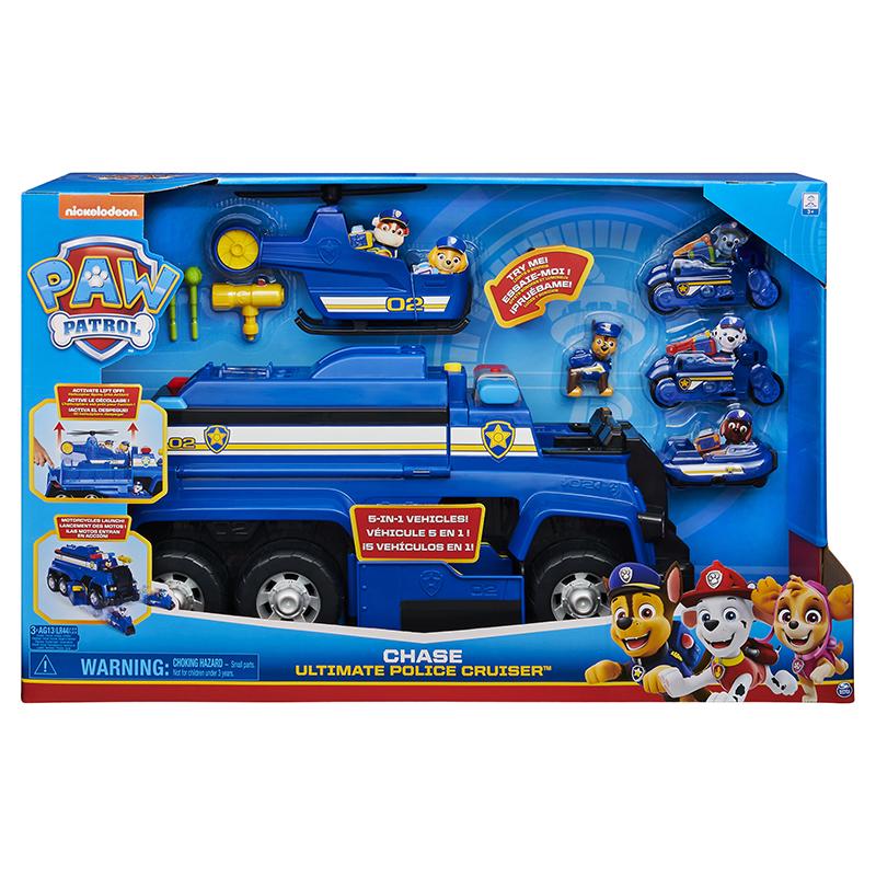 SPIN - Paw Patrol Multifunkční Záchrané Auto