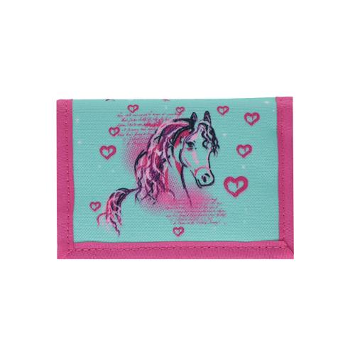 SPIRIT - Dětská peněženka Horse Turquoise