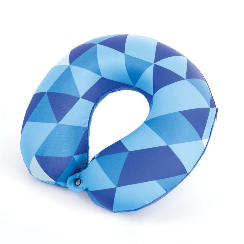 SPOKEY - AMBIENT Cestovní polštářek paměťová pěna modrý