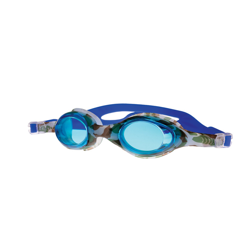 SPOKEY - BARBUS Plavecké brýle modré s potiskem