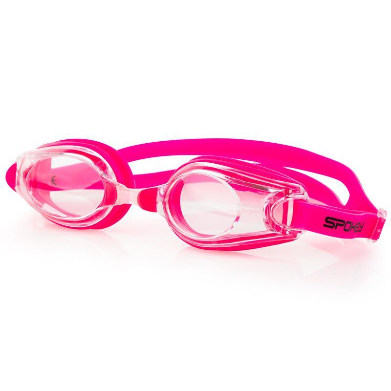 SPOKEY - BARRACUDA Plavecké brýle růžové