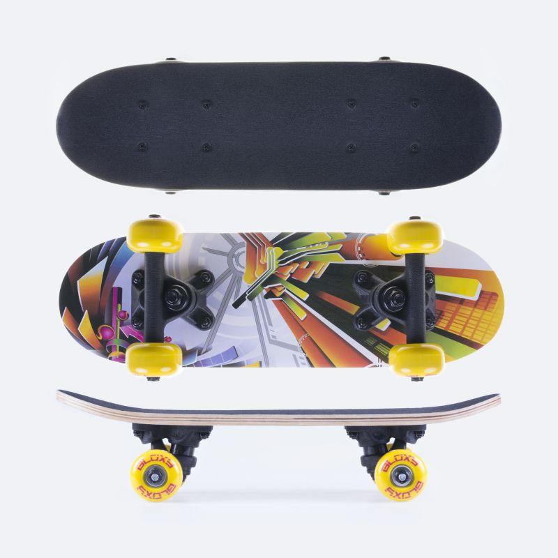 SPOKEY - BLOXY Skateboard mini 43 x12,5 cm