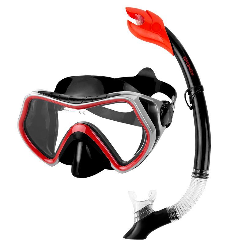 SPOKEY - BORNEO Sada pro potápění maska+šnorchl