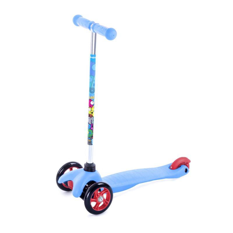 SPOKEY - BULLER Skládací tříkolka dětská modrá